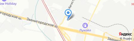 Smart на карте Москвы