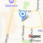 Адвокат Зиновьева Г.А. на карте Щёкино