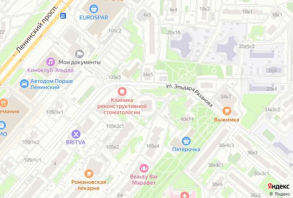 продажа квартир Ленинский проспект 105к3