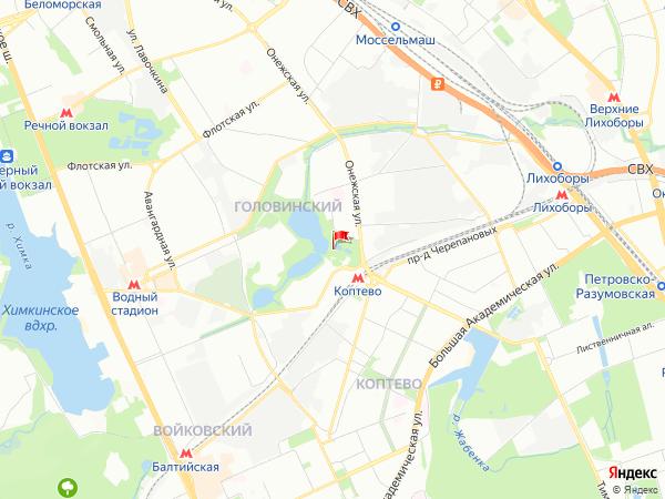 Карта район Михалково