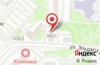 Схема проезда до компании Финпром в Москве