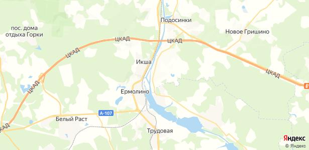 4-й Участок на карте