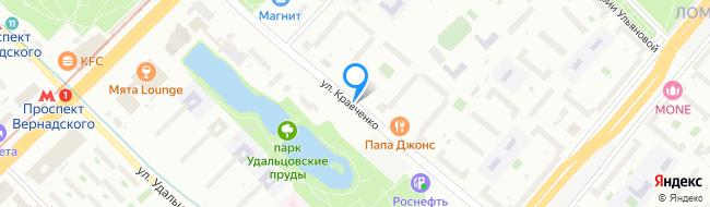 улица Кравченко