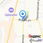 Всероссийское общество инвалидов на карте Щёкино
