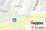 Схема проезда до компании LOFT SMOKE в Москве