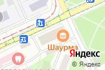 Схема проезда до компании Три Звезды ЛТД в Москве