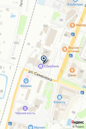ДМИТРОВСКАЯ ОРГАНИЗАЦИЯ на карте Дмитрова