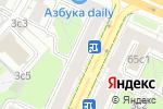 Схема проезда до компании Арт-Академия в Москве