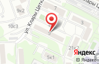 Схема проезда до компании Каринтия в Москве