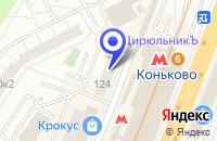 Схема проезда до компании ПОДРОСТКОВЫЙ КЛУБ АРГО в Москве