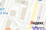 Схема проезда до компании ТЕРРИТОРИЯ КОНТРОЛЯ в Москве