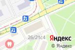 Схема проезда до компании Интеграл-Пресс в Москве