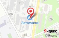 Схема проезда до компании Альмарин в Подольске