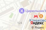 Схема проезда до компании Третье дыхание в Москве