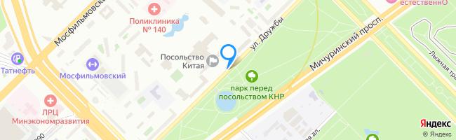 улица Дружбы