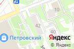 Схема проезда до компании GoldenRosse в Москве