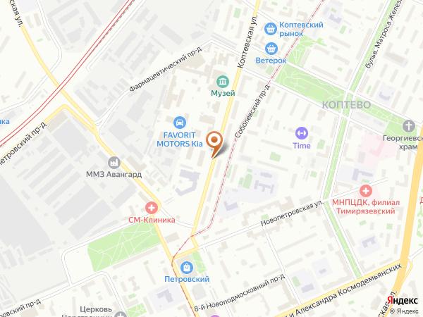 Остановка Коптевская ул. в Москве