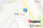Схема проезда до компании Магазин автозапчастей для корейских автомобилей в Москве