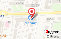 Схема проезда до компании Избёнка в Львовском