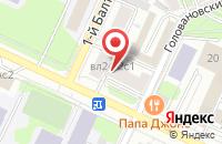 Схема проезда до компании Модуль-Б в Москве