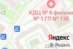 Схема проезда до компании Sudkonsalt в Москве