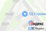 Схема проезда до компании Научно-производственная фирма Энергострой в Москве