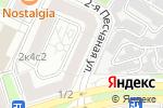 Схема проезда до компании Трио на Соколе в Москве