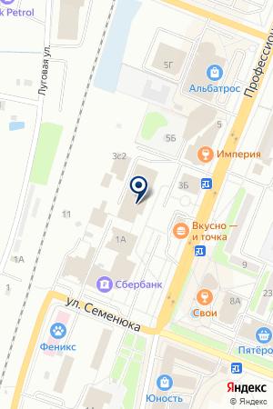 САЛОН ОРУЖИЯ ГАЛЛИУС-Д на карте Дмитрова