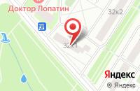 Схема проезда до компании Имаком в Москве