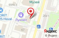 Схема проезда до компании Милар в Москве