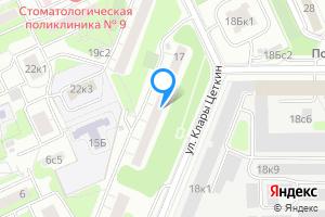 Снять двухкомнатную квартиру в Москве ул. Клары Цеткин, 17