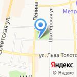 Участковый пункт полиции на карте Щёкино