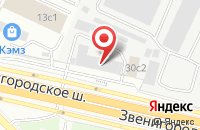 Схема проезда до компании Фининвест в Москве
