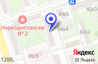 Схема проезда до компании ТСЦ ФОРВАРД ТЕХНОСТРОЙ в Москве