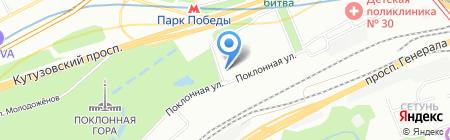 КИТ-МЕД на карте Москвы