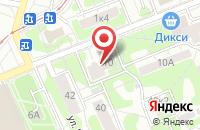 Схема проезда до компании Мангазея в Москве