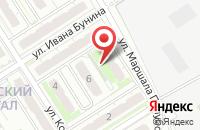 Схема проезда до компании Петровский квартал в Иншинском