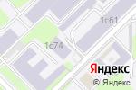 Схема проезда до компании Архив в Москве