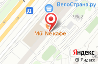 Схема проезда до компании Макси-М в Москве