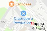 Схема проезда до компании Векко-подшипник в Москве