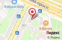 Схема проезда до компании БиС в Москве