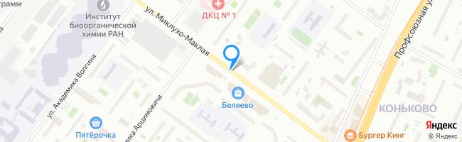 улица Миклухо-Маклая