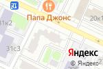 Схема проезда до компании Этика в Москве