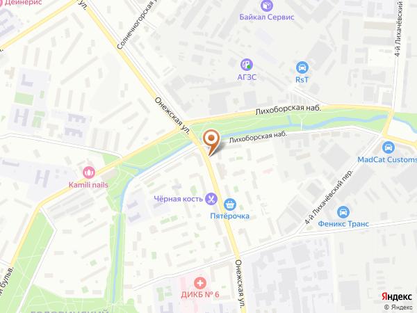 Остановка Онежская ул., 19 в Москве