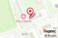 Схема проезда до компании Андромеда в Москве