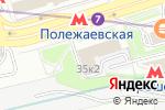 Схема проезда до компании НалогБизнесКонсалтинг в Москве