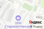 Схема проезда до компании Автостекло в Москве