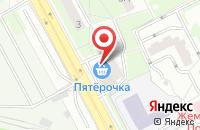 Схема проезда до компании Монетка в Подольске
