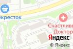 Схема проезда до компании Айсберг в Москве
