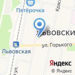 Банкомат на карте Подольска